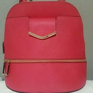 NWT Calvin Klein Saffiano Leather Backpack